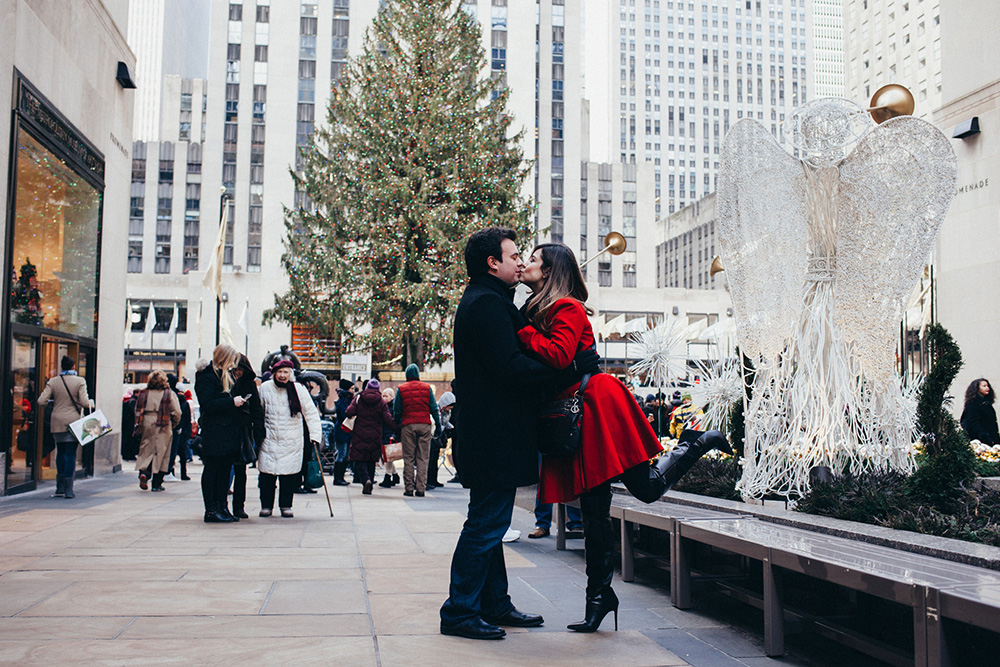 Engagement shoot in new york
