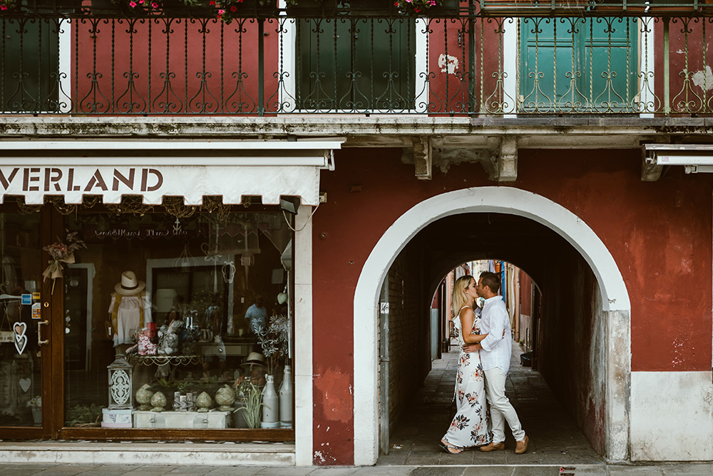 Burano engagement shoot