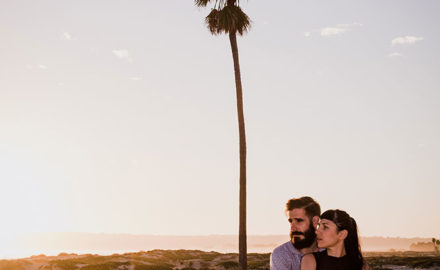 San Diego engagement shoot