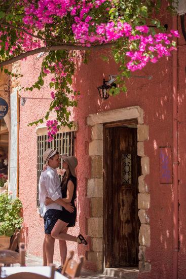 Crete photographers, Olga and George