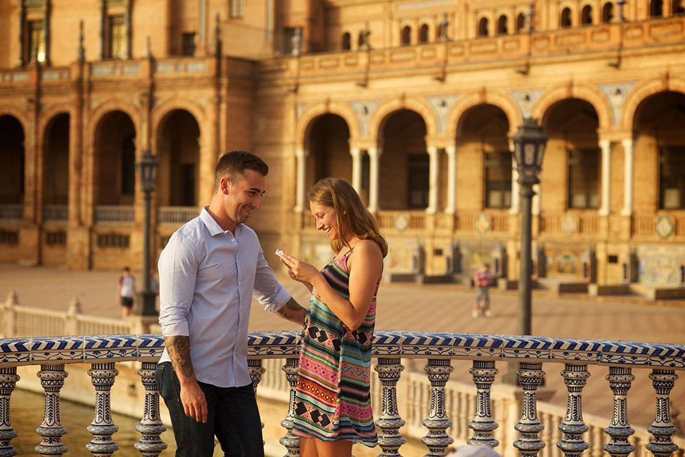 Wedding proposal photographers