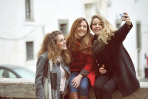 Selfie in Rome with Pix Around