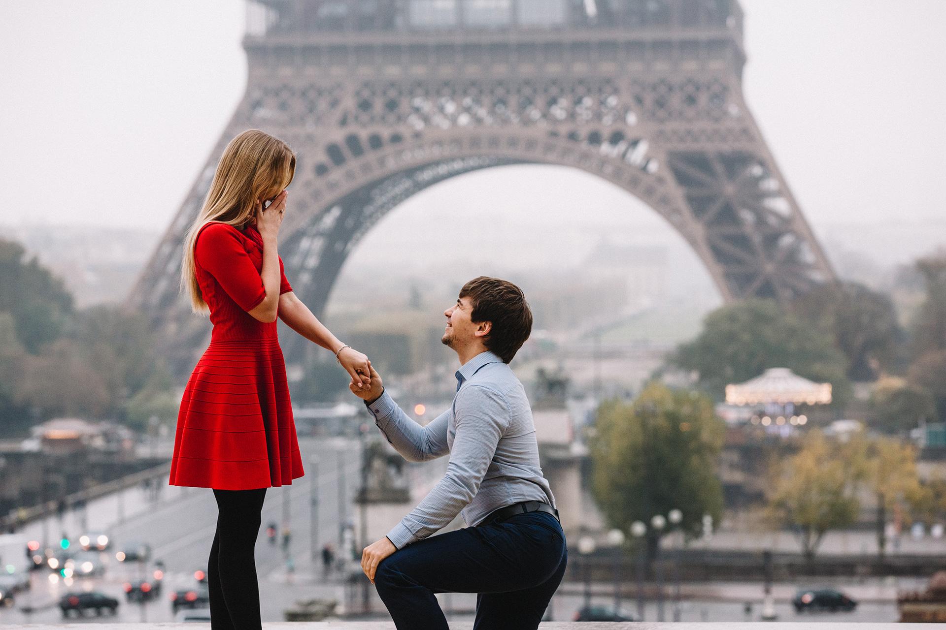 Organsing the perfect proposal in Paris