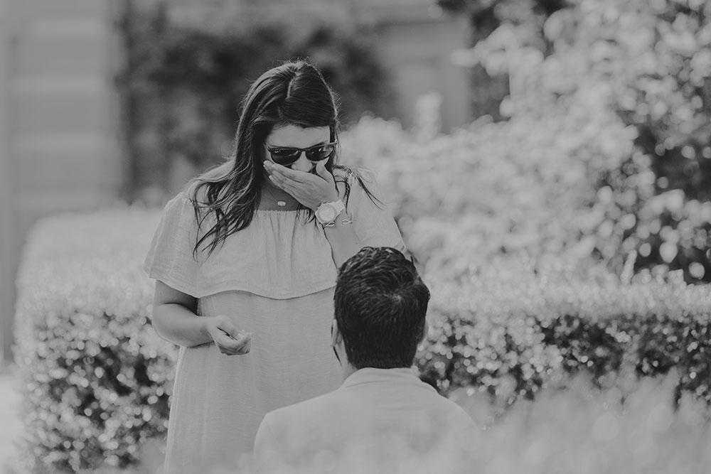 Hidden photographer for proposal
