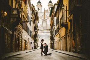 Breathtaking proposal photography in Europe