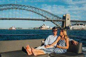 Sydney Harbour photo shoot