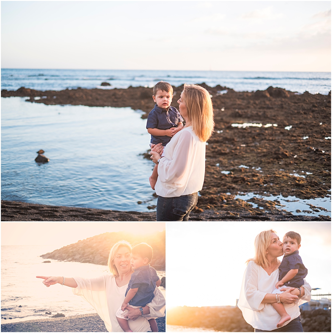 beach shoot for mother's day