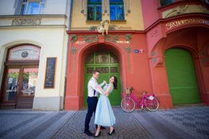 Summer shoot in Prague