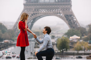 Proposal in Paris, France