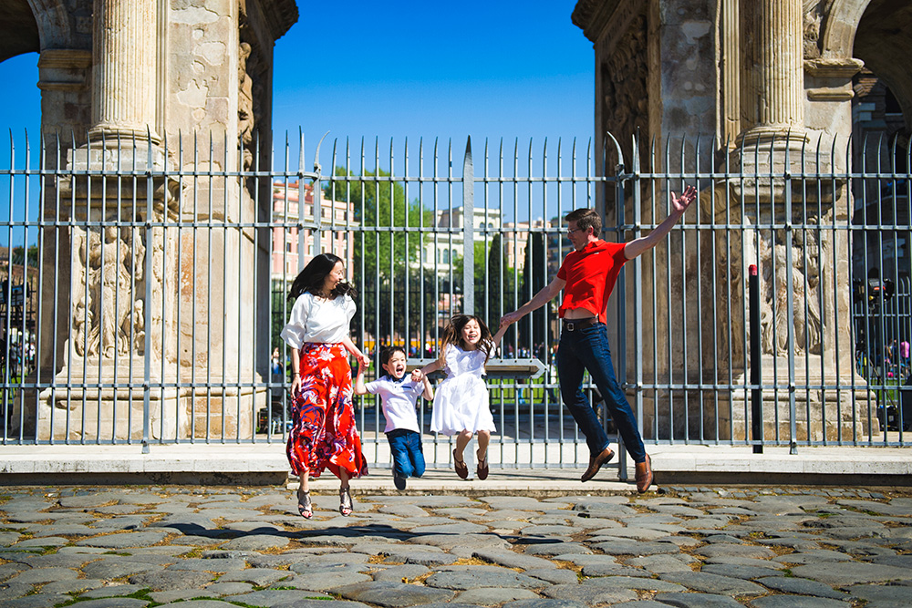 Family portraiture Rome