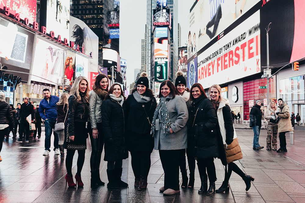 Times Square NYC with travel photographer Pix Around