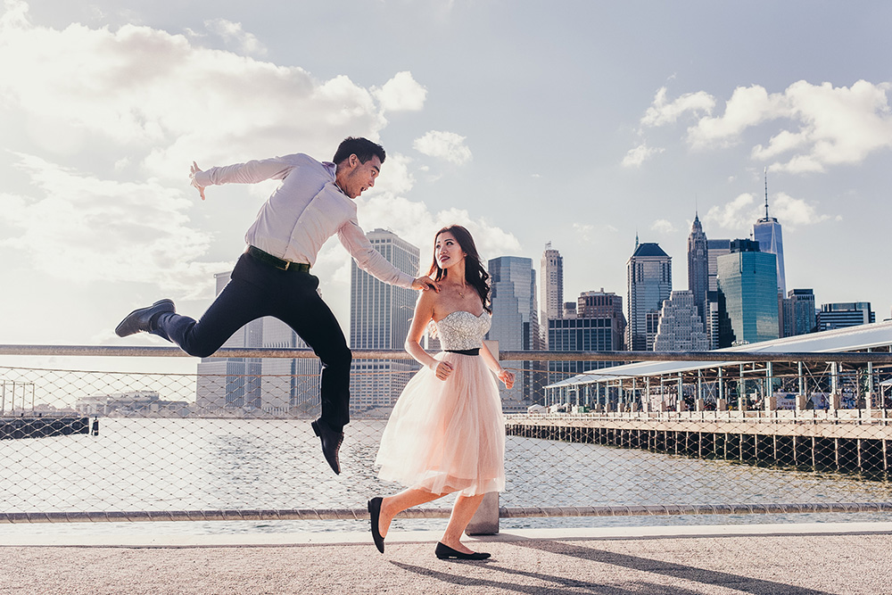 Creative couples shoots in NYC