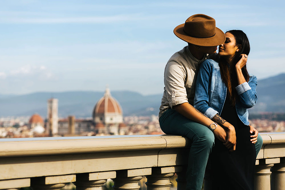 Florence shoot for couples