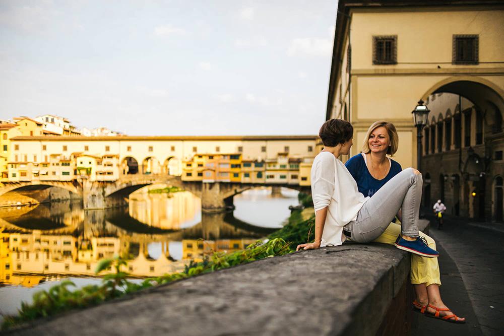 Ponte Vecchio & Ponte Santa Trinita
