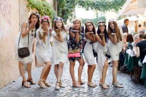 Surprise Bachelorette party photo shoot