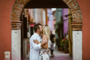 Romantic photo shoot in Venice