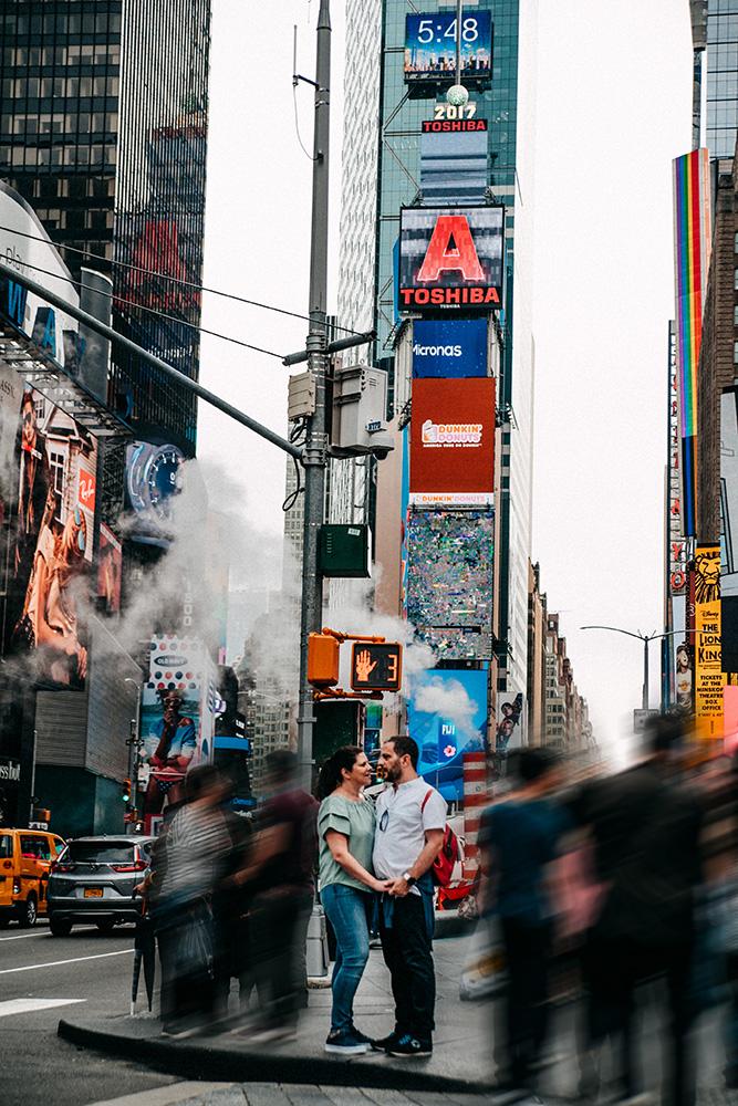 Honeymoon photoshoot NYC