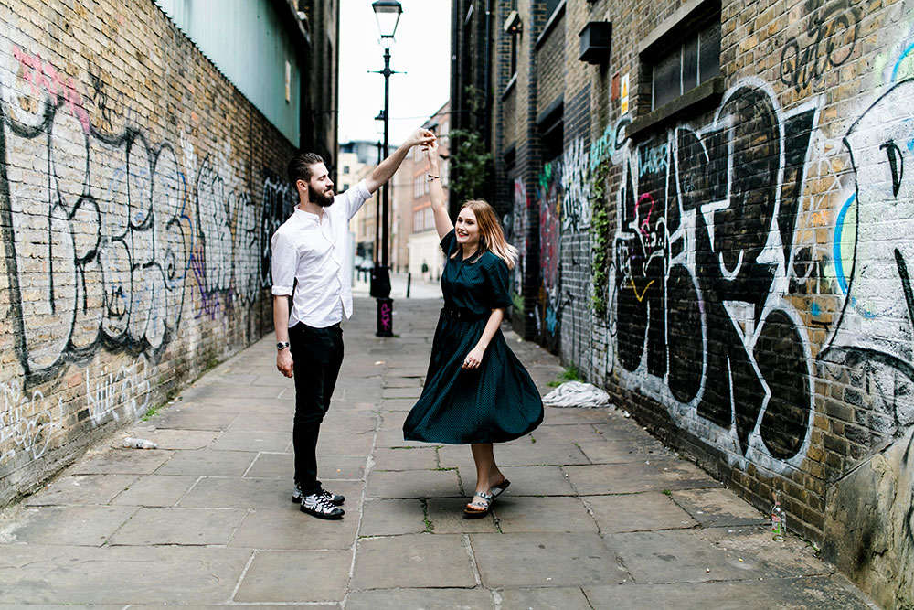 Dancing in the streets of London with Pix Around