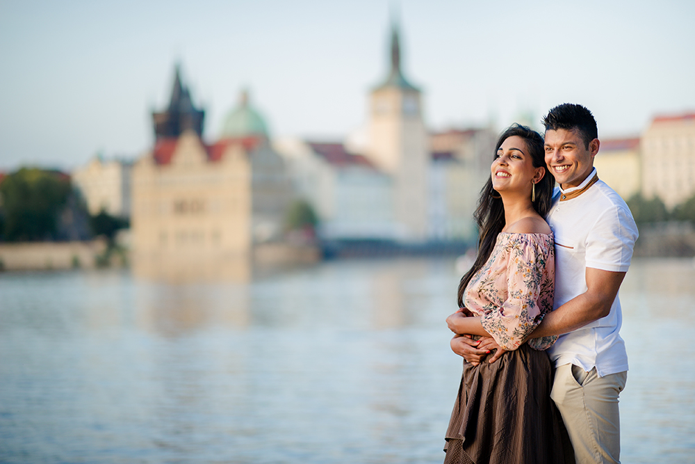 Engagement photography Prague