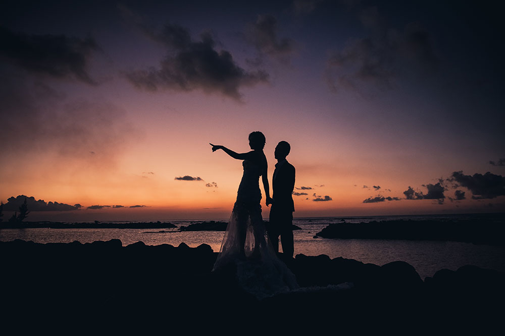 Night photography Mauritius