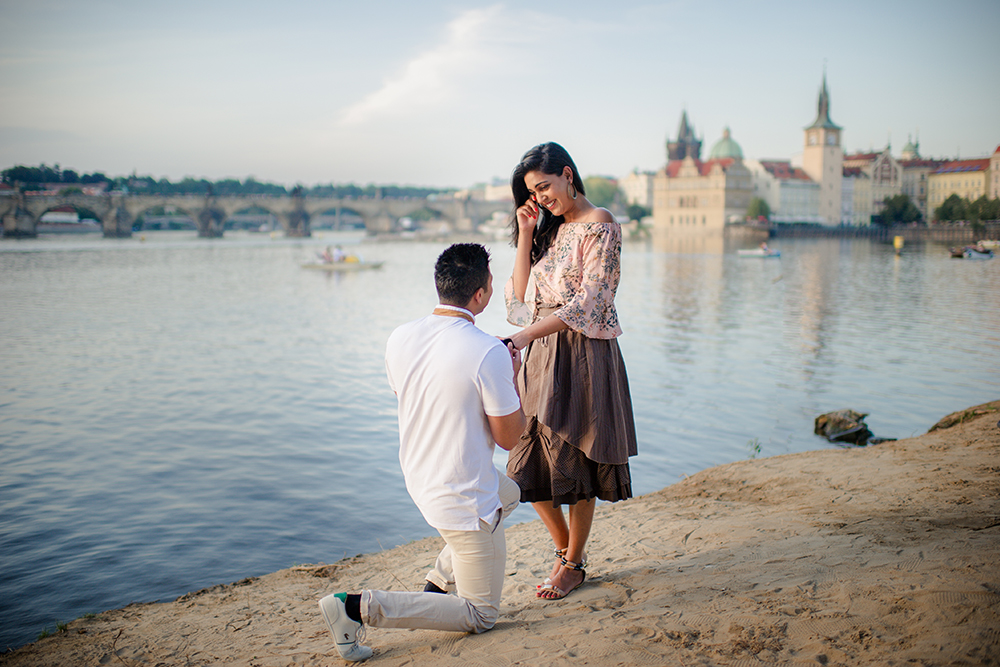 Proposal shoot Prague