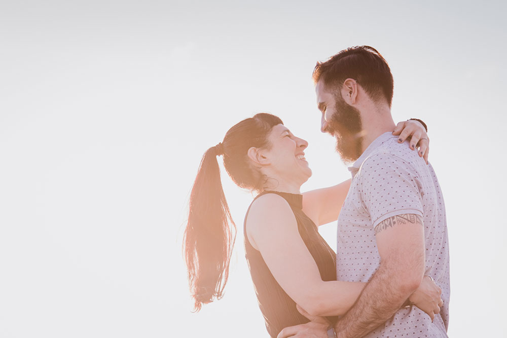 Creative couples photography