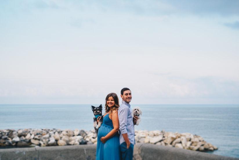 Ligurian Riviera photographers, Silvia and Davide