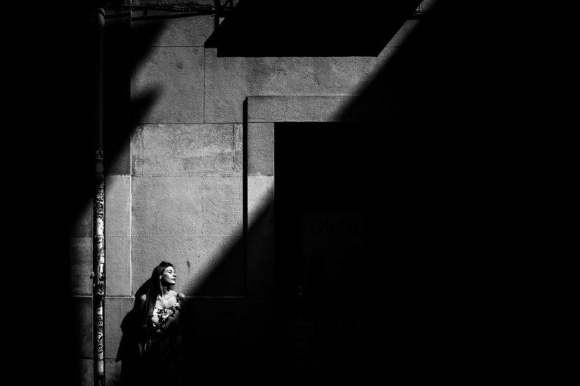 San Sebastian photographers, Maria & Ivan