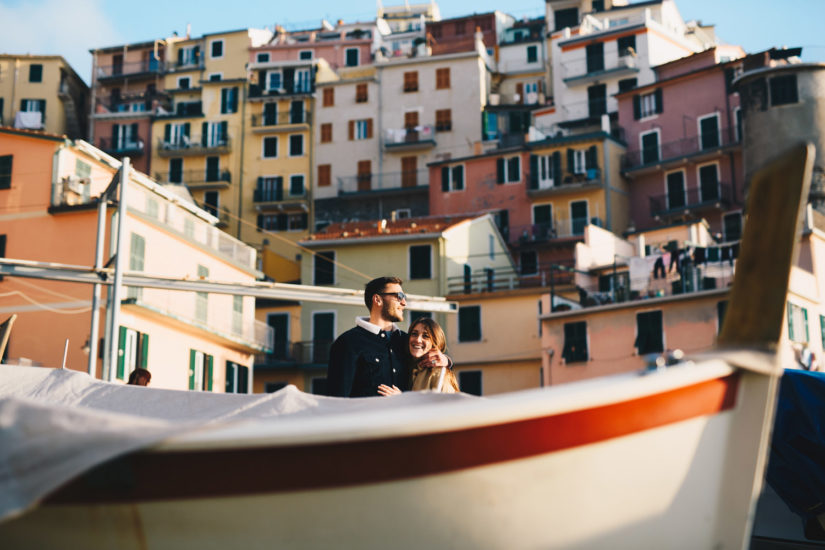 Ligurian Riviera photographers, Silvia e Davide